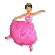 Ballet Dancer Ballerina Supershape Balloon